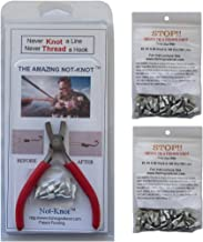 Not-Knot Fishing Tool Kit Bundle, Hook, Lure And Line Tying Tool, Fisherman Gifts and Gear