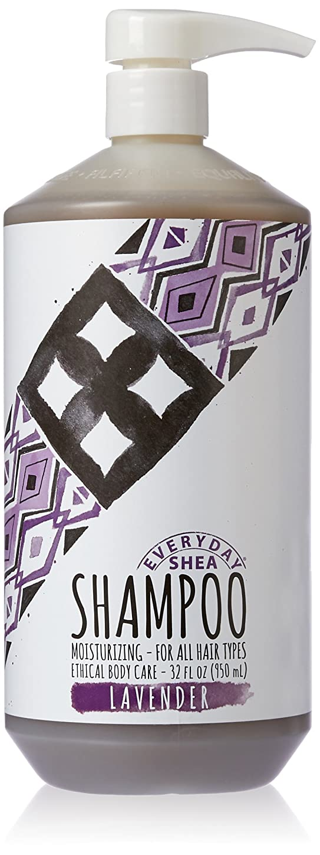 憎しみイディオムアカデミックAlaffia - Everyday Shea 保湿シャンプー ラベンダー - 32ポンド