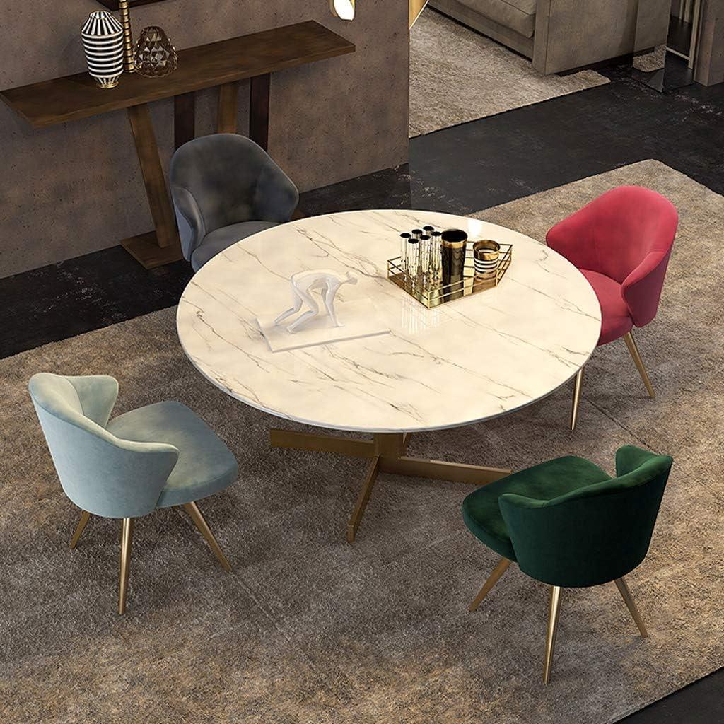 WDX-Chaise de Salle à Manger, Simple Chaise de Bureau, Dossier créatif, Chaise de Loisirs, Maison Adulte Chaise de Salle à Manger Mode Violet