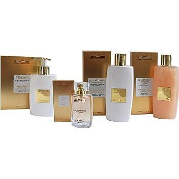BCB Set gold 4 Teile (Eau de Parfum gold, Hand Creme, Body Lotion und Shower Gel)