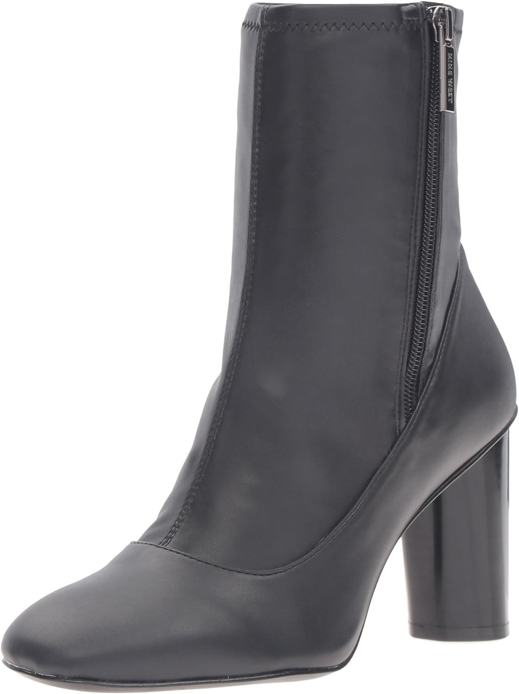 Nine West Womens Valetta Patent Ankle Bootie