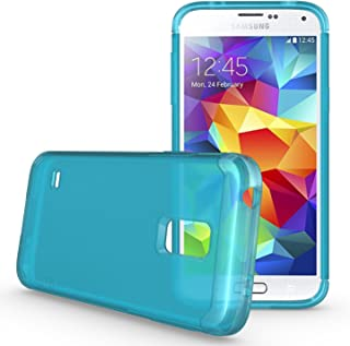 TUDIA LITE TPU Bumper Protective Case for Samsung Galaxy S5 Mini for S5 Mini Version ONLY (Teal)