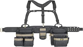 CLC Custom Leathercraft 6714 Heavy Duty Framers 5 Piece Comfort-lift Combo Tool Belt..