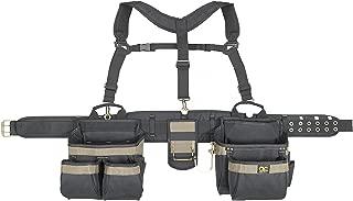 CLC Custom Leathercraft 6714 Heavy Duty Framers 5 Piece Comfort-lift Combo Tool Belt..