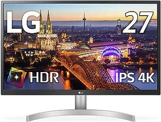 【Amazon.co.jp 限定】LG ゲーミング モニター ディスプレイ 27UL500-W 27インチ/4K/HDR(標準輝度:300cd/㎡)/IPS非光沢/HDMI×2、DisplayPort/FreeSync/ブルーライト低減