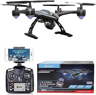 Contixo F5 FPV RC Quadcopter Drone with Wi-Fi Camera, Black