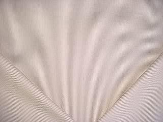 P Kaufmann / Braemore / Waverly Baldwin in Buff - Heavy Cotton Ticking / Mattress Stripe Designer Upholstery Drapery Fabric - By the Yard