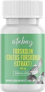 Forskolin Coleus Forskohlii Extract, 400 mg, 90 Cápsulas