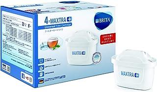 ブリタ 浄水 ポット カートリッジ マクストラ プラス 4個セット 【日本仕様・日本正規品】