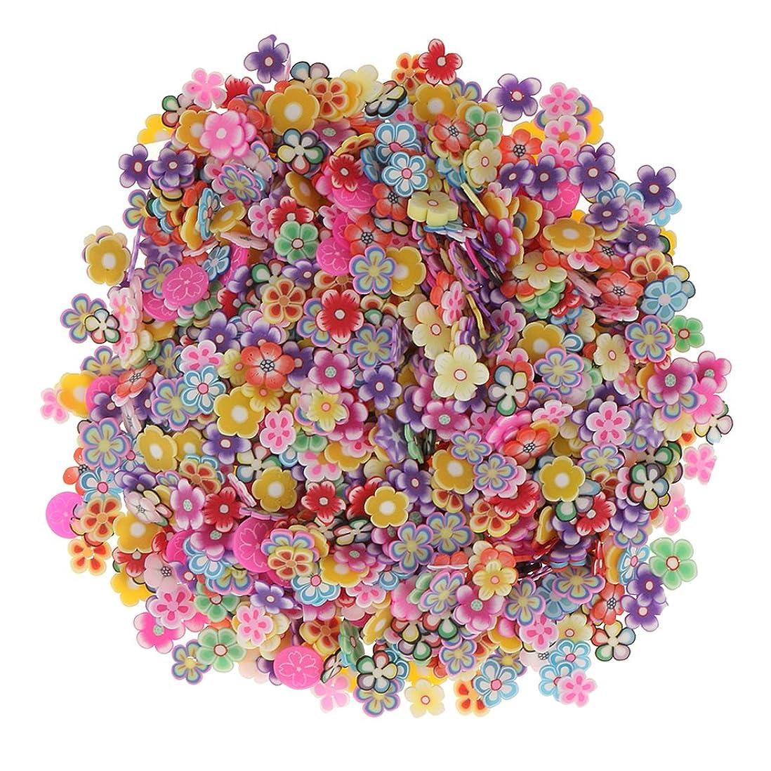壊滅的な肺炎メッセンジャーSharplace 約1000個入り ネイルアート 3D花 フラワー DIY 手作り デコレーション