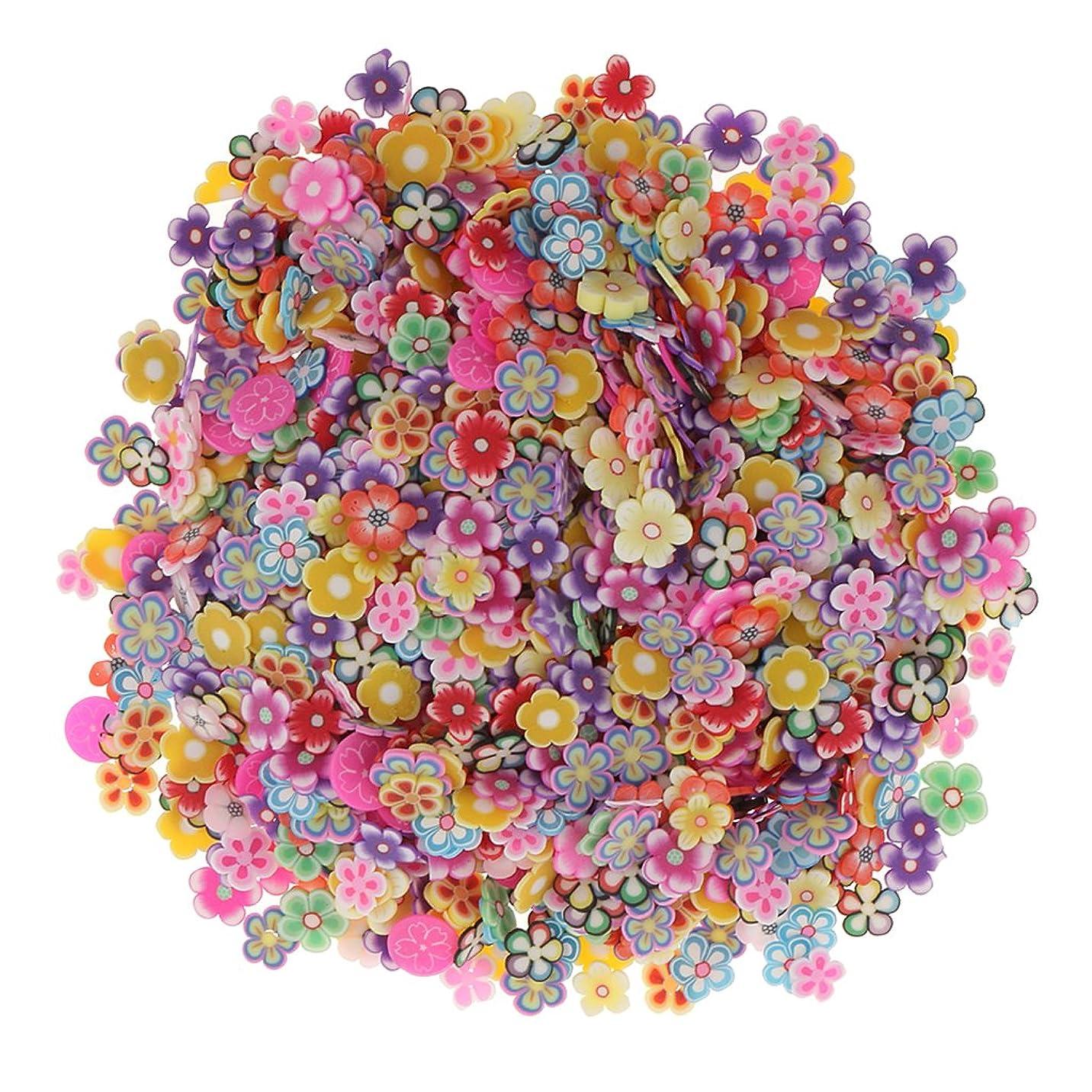月曜日分岐する尋ねるSharplace 約1000個入り ネイルアート 3D花 フラワー DIY 手作り デコレーション
