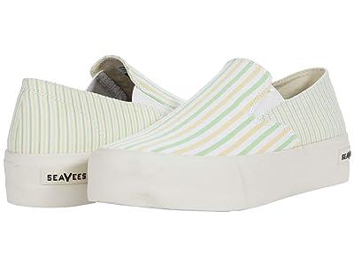 SeaVees Baja Slip-On Platform (Lemon Lime) Women