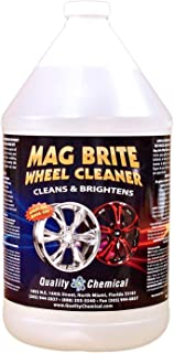Quality Chemical Mag Brite - Acid Wheel and Rim Cleaner formulated to Safely Remove Brake dust and Heavy Road Film.-1 Gallon (128 oz.)