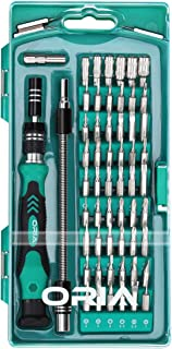 ORIA Precision Screwdriver Kit, 60 in 1 with 56 Bits Screwdriver Set, Magnetic Driver Kit..