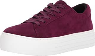 Kenneth Cole New York Women's Abbey Platform Lace up Suede Sneaker