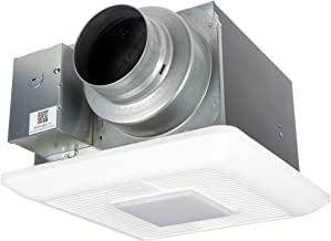 Panasonic FV-0511VKSL2 WhisperGreen Select Ventilation Fan with Light and Speed Controls, 50-80-110 CFM