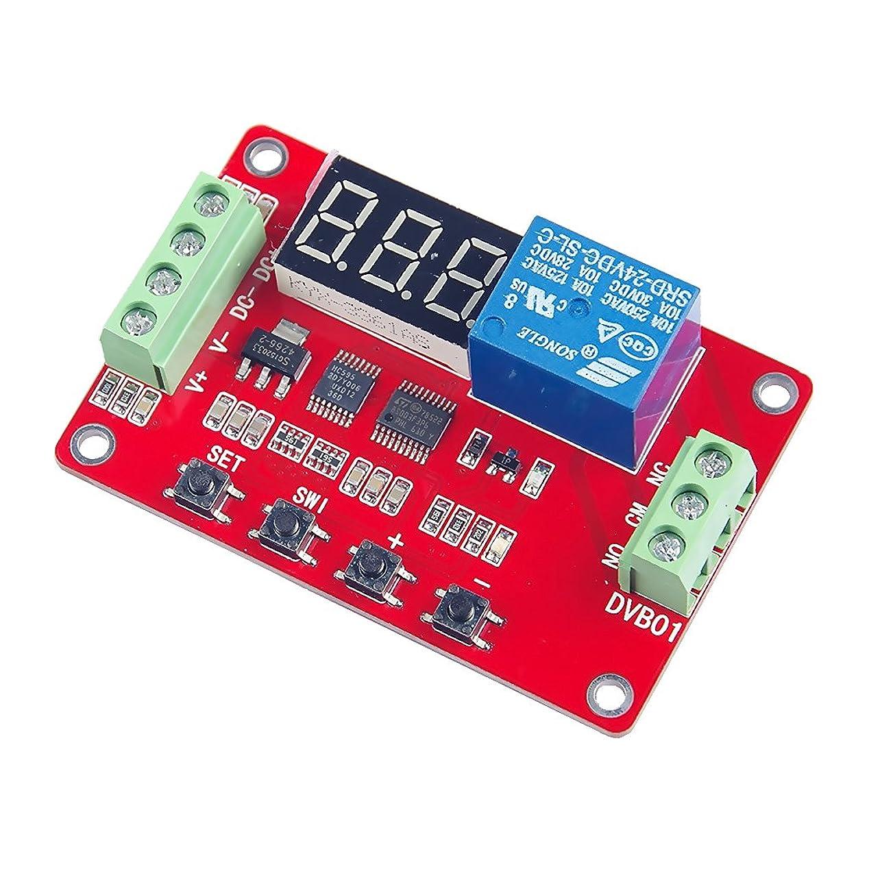 常識生き残ります悲惨なDVB01 電圧計 リレーモジュール 電源モジュール 電圧測定 4線式 デジタルディスプレイ 3種類選べ - 24V