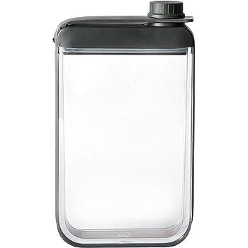 """Rabbit Discreet Flask (Leak-Free), 3.25"""" x 1.2"""" x 6"""", Black"""