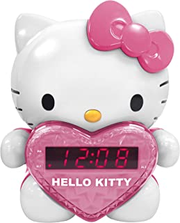 HKT2064 - HELLO KITTY KT2064 AM FM Projection Alarm Clock Radio