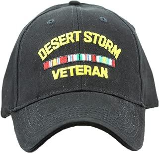 Desert Storm Veteran Cap Military Hat Men Women Veterans Patriotic Collectibles