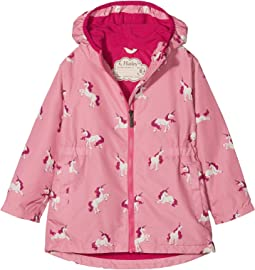 Majestic Unicorns Microfiber Rain Jacket (Toddler/Little Kids/Big Kids)