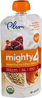 Plum Organics Yogurt Grk Pmpkn Pom Quin