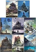 Philip Reeve Mortal Engines Collection 8 Books Set (Scrivener's Moon, Night Flights, Predator's Gold, Mortal Engines, Infe...