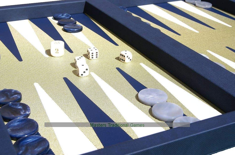 Dal schwarz Elite Blau Backgammon Case