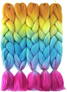 Best orange and blue ombre hair Reviews