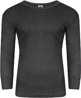 Mrao® Men Thermal T-Shirt Underwear Long Sleeve Top Warm Winter Base Layer Vest S-XXL