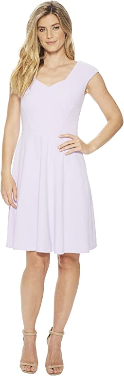 Calvin Klein Cap Sleeve A-Line Dress CD8C15JL