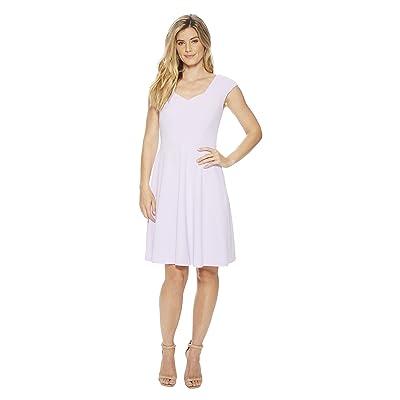 Calvin Klein Cap Sleeve A-Line Dress CD8C15JL (Opal) Women