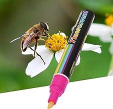 Snabbtorkande 1 st vattenbaserad Bee Queen Marker Pen Paint Tool Set, Queen Bee Marking Pen Set, Färgstark för biodling Ma...
