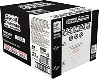 Castrol 60019 Transmax Import Multi-Vehicle Automatic Transmission Fluid - 6 Gallon
