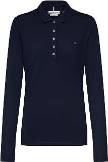 Tommy Hilfiger Heritage Poloshirt met lange mouwen voor dames