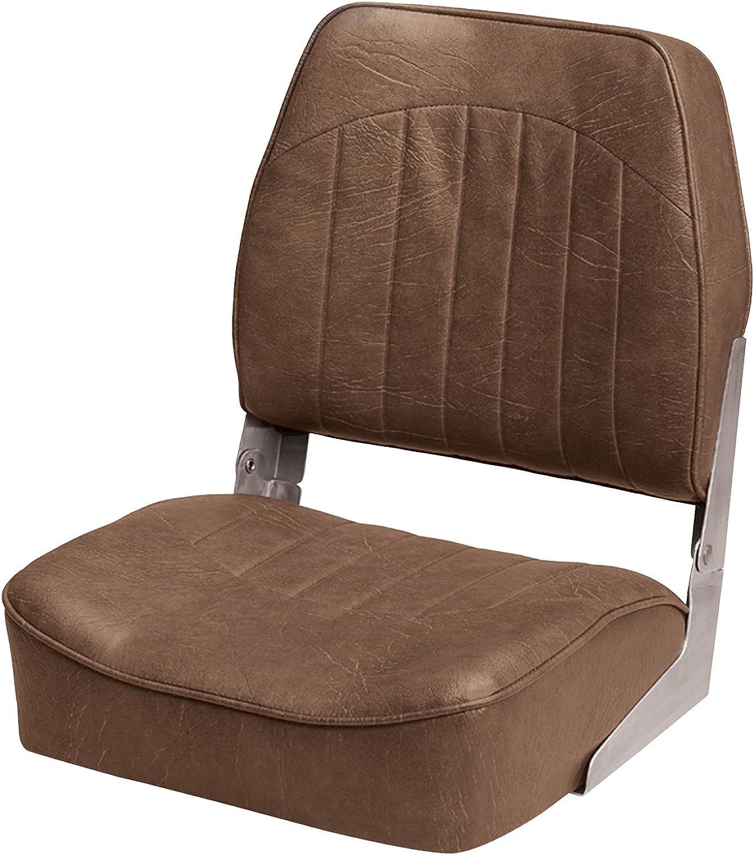Wise Standard Folding Boat Seat, Bark Brown