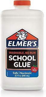 Elmers Slime Liquid PVA Glue, Great for Making Slime, Washable, 946ml, White, (2024678)