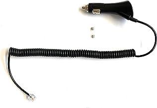 Generic Coiled DC Power Cord Replacement for Escort Passport 8500, 8500 X50 Radar Detector