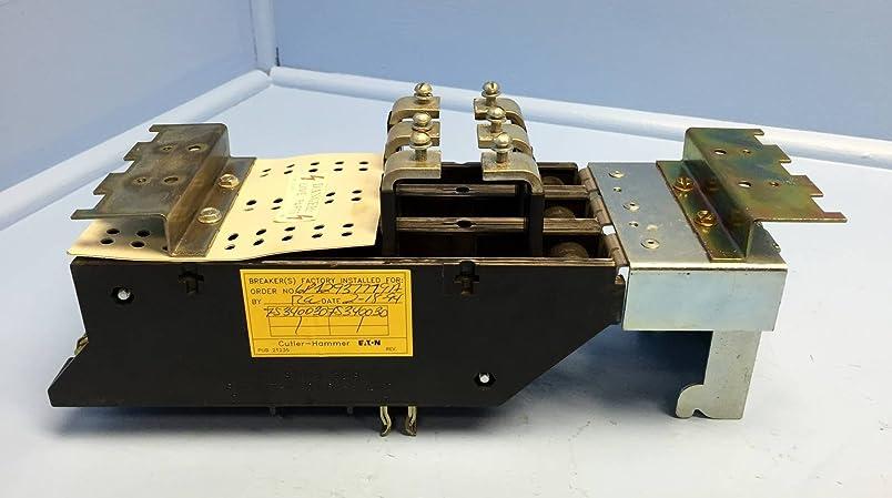 Cutler-Hammer EEFS340150SB2 150 Amp EE2 Circuit Breaker Twin Mount Adapter 150A wv524619025