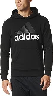 Men's Essential Linear Logo Pullover Hoodie