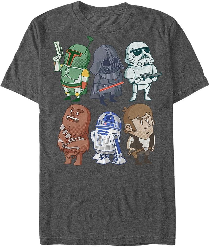 Discount is also underway Star Wars Men's Doodles T-Shirt Graphic wholesale