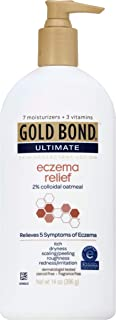 Gold Bond Ultimate Eczema Relief Cream 14 Oz (Pack of 2)