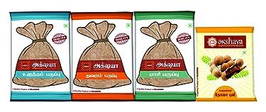 Akshaya Urad dal - 1kg, Toor dal -1kg, Moong dal - 500g, Tamarind/puli - 500g Combo Pack