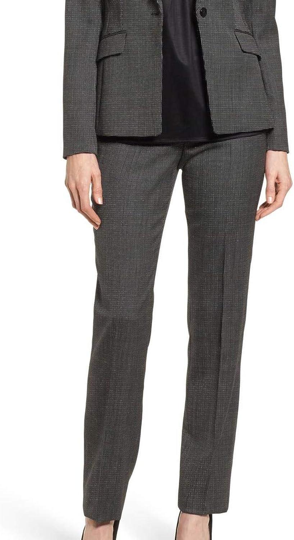BOSS Hugo Boss Womens Tamea5 Wool Office Wear Dress Pants Black 2