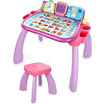 VTech Touch & Learn Activity Desk (Frustration Free Packaging), Purple