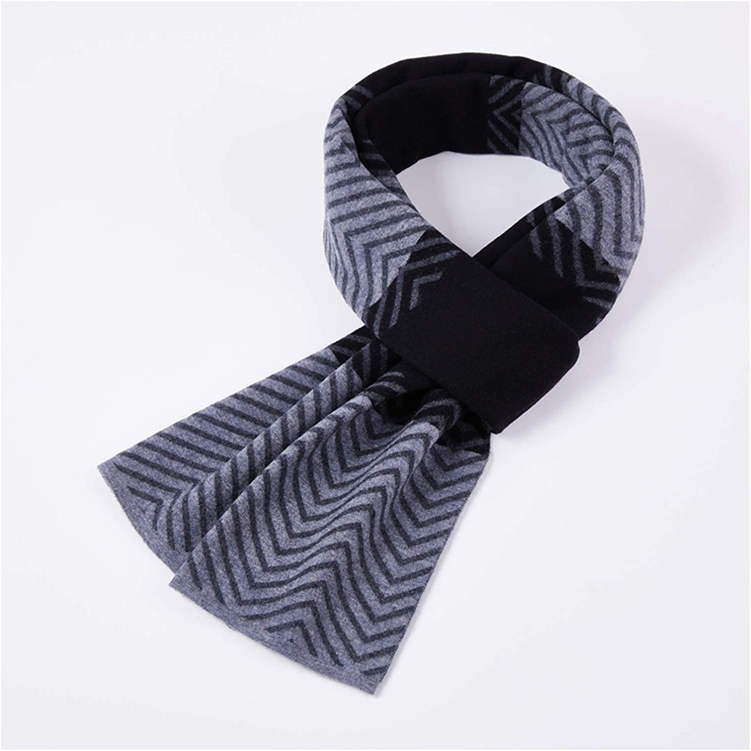 KGDC Max 74% OFF Scarves Shawls Max 47% OFF Men's Pure in Thick Wool Scarf Autumn