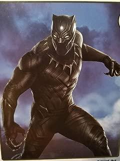 Jay Franco Hunter Black Panther Plush Throw, Medium Blanket