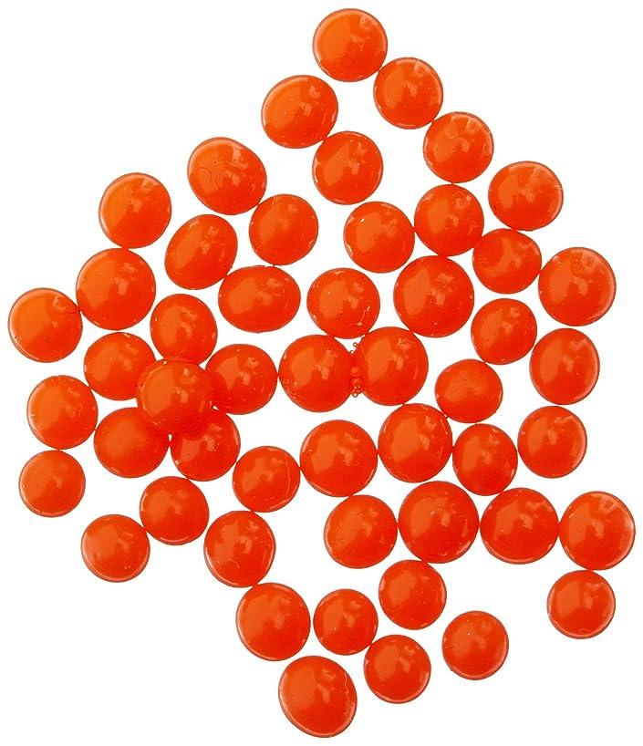 JellyBeadZ Water Bead Gel 8 Ounce -Almost 15,000- Orange- Heat Sealed Bag- Water Pearls Gel Beads- Wedding & Event Centerpieces