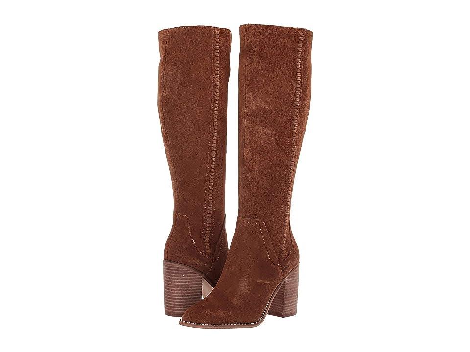 Steve Madden Roxanna To the Knee Boot (Chestnut Suede) Women