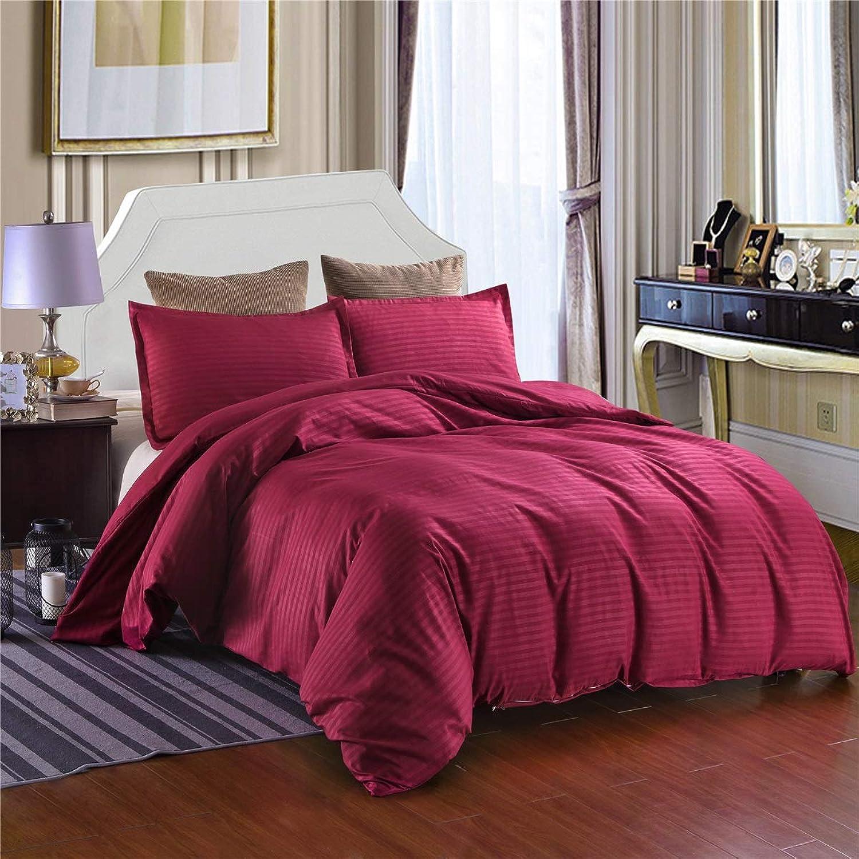 promociones de descuento Longwei Longwei Longwei Colcha de Tres Colors en Color Liso, Ropa de Cama Suave y cómoda de Hotel de Hotel, Rojo Vino. (Talla   150×200)  tienda de venta en línea